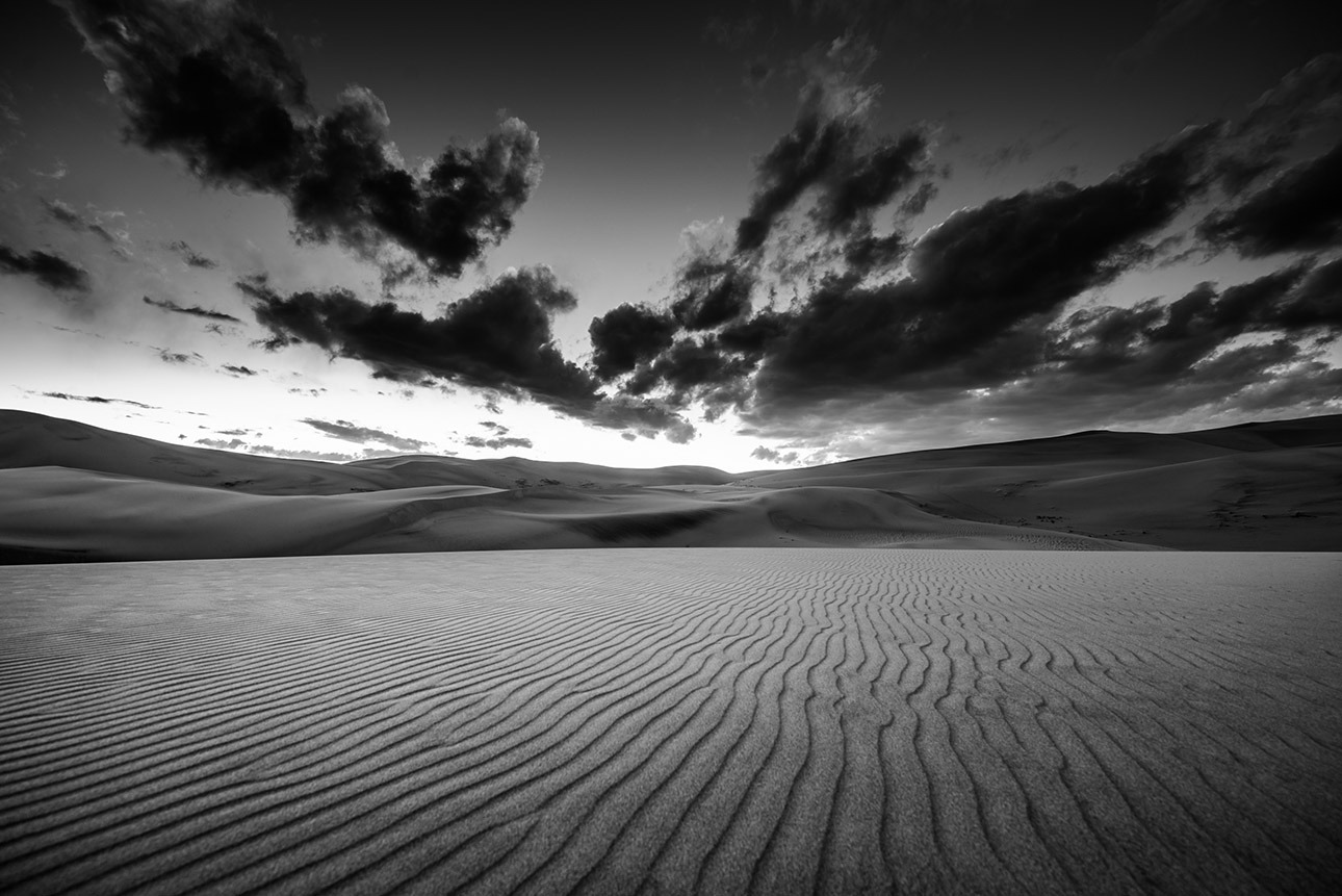 Canvas Prints - Desert Dunes