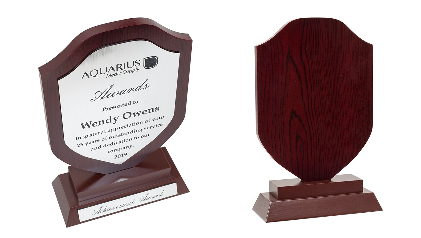 ENGRAVED PLAQUE FOR AWARDS & MEMORIALS