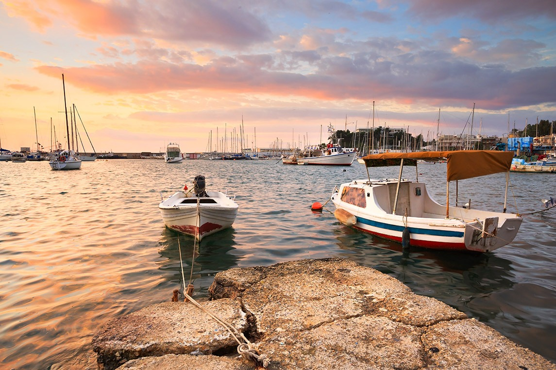 Canvas Print - Marina in Athens